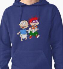 Sudadera con capucha Rugrats Tommy y Chuckie