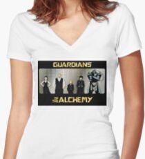 Wächter der Alchemie Tailliertes T-Shirt mit V-Ausschnitt