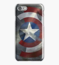 Worn Steve & Bucky Unshielded Half Shield  iPhone Case/Skin