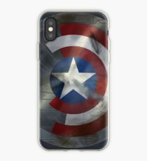 Worn Steve & Bucky Unshielded Half Shield  iPhone Case