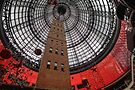 Melbourne Shot Tower at Christmas by Sean Farrow