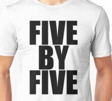Five by five Unisex T-Shirt