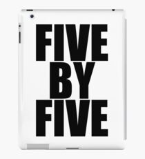 Five by five iPad Case/Skin