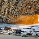 Pfeiffer Beach Arch, Big Sur, California by Maria Draper