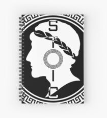 The Stoic - Stoic Emblem - Stay Stoic Spiral Notebook