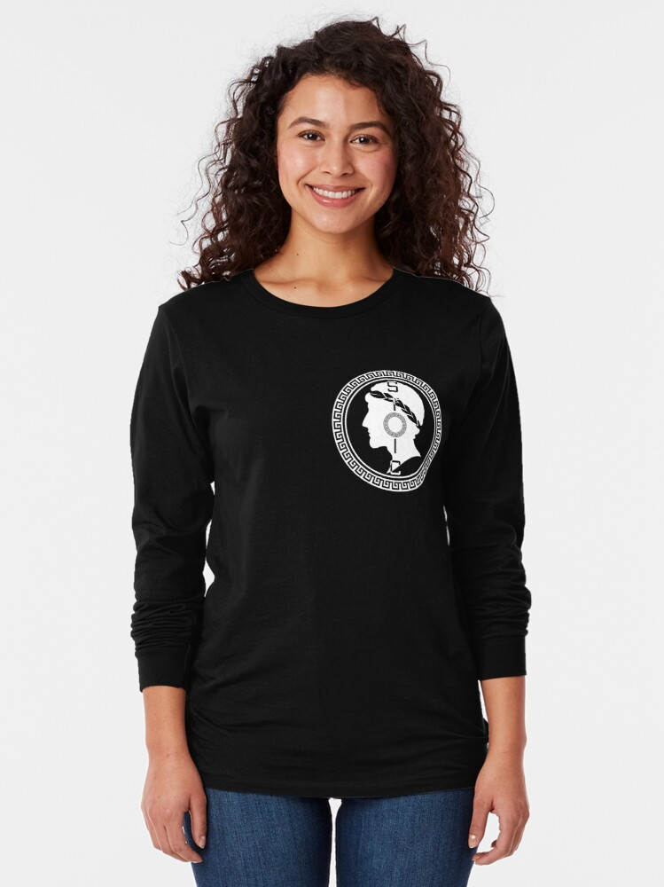 Alternate view of The Stoic - Stoic Emblem - Stay Stoic Long Sleeve T-Shirt