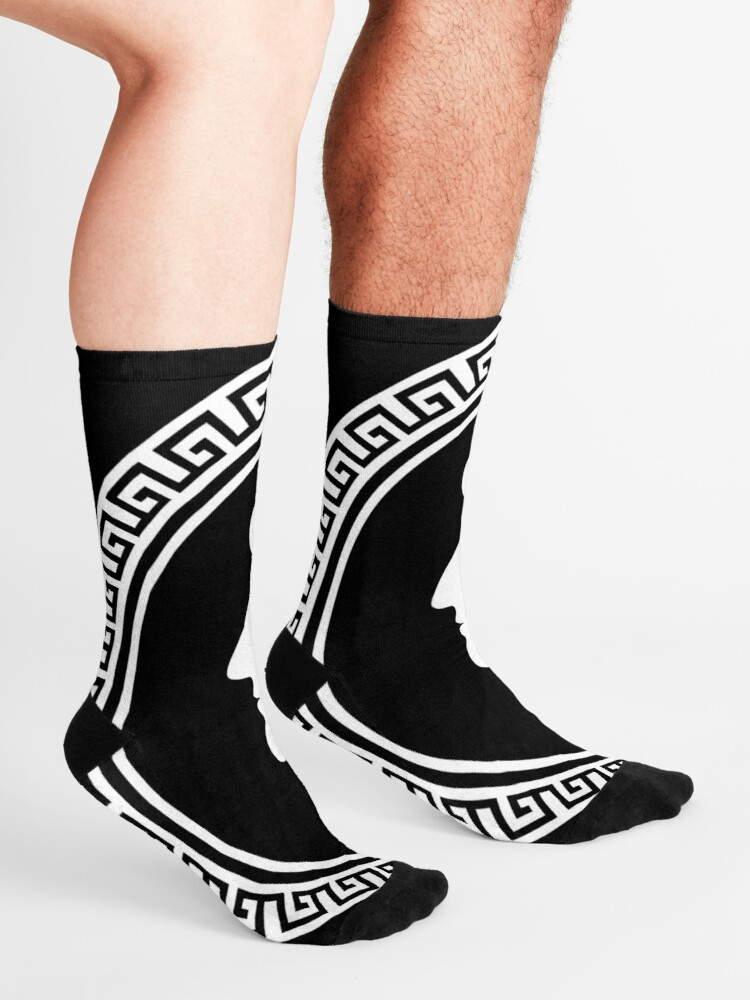 Alternate view of The Stoic - Stoic Emblem - Stay Stoic Socks