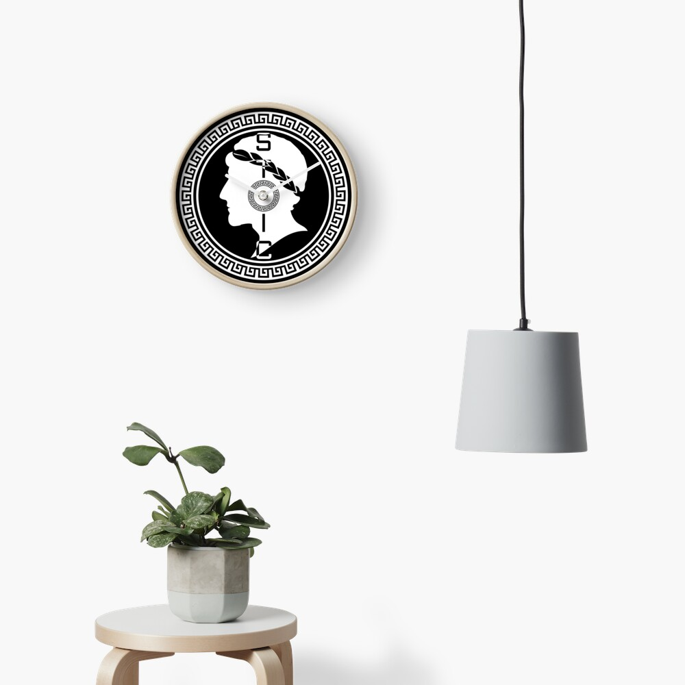 The Stoic - Stoic Emblem - Stay Stoic Clock