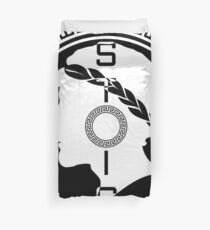 The Stoic - Stoic Emblem - Stay Stoic Duvet Cover