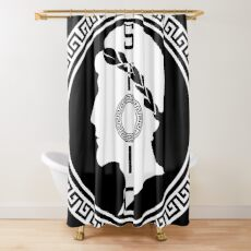The Stoic - Stoic Emblem - Stay Stoic Shower Curtain