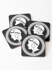 The Stoic - Stoic Emblem - Stay Stoic Coasters