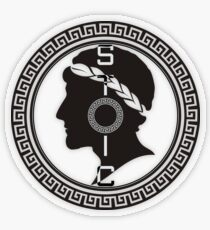 The Stoic - Stoic Emblem - Stay Stoic Transparent Sticker