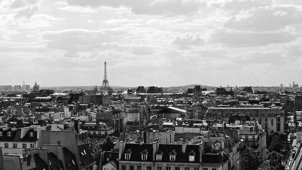 Paris Skyline by Connor Mackenzie