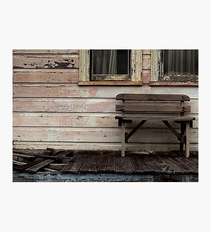 Johnny and Dave's Hideaway Photographic Print