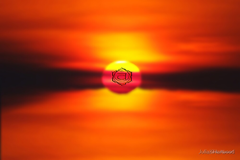 Swadhisthana ~ Sacral Chakra ~ Orange by Julia Harwood