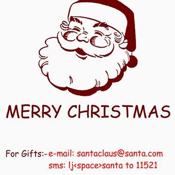 Techno savvy Santa by artyrau