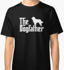THE DOGFATHER Great Pyrenees Dogs Classic T-Shirt
