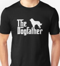THE DOGFATHER Great Pyrenees Dogs T-Shirt