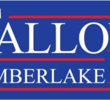 Fallon and Timberlake 2016 Election Sticker