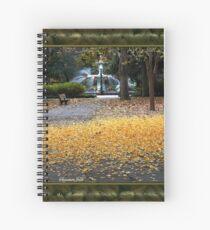 A Carpet of Golden Leaves Spiral Notebook