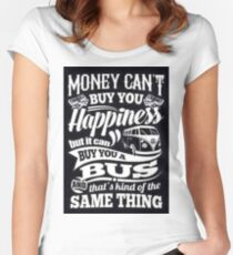 VW Happiness Women's Fitted Scoop T-Shirt