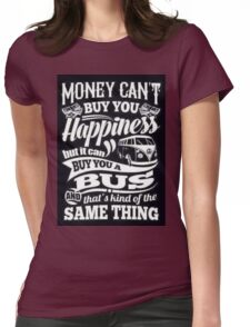 VW Happiness Womens Fitted T-Shirt