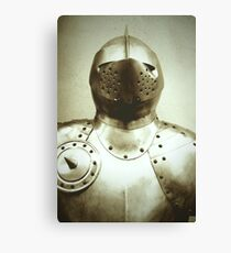 Knight Armour Canvas Print