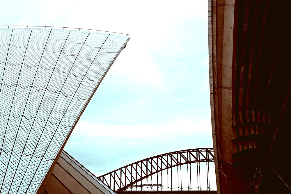 Sydney Icons by Janette Zlamal
