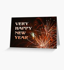 Happy New Year........ Greeting Card