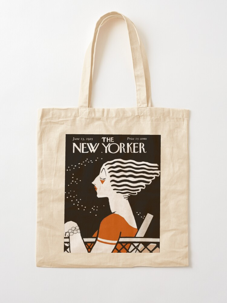 Alternate view of NEW YORKER : Vintage 1935 Magazine Cover Print Tote Bag