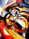 Color Revolution Abstract by Alexander Butler