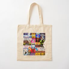 Musicals Cotton Tote Bag