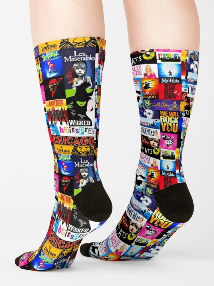 Alternate view of Musicals Socks