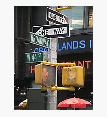 Sights and Sounds of New York Photographic Print