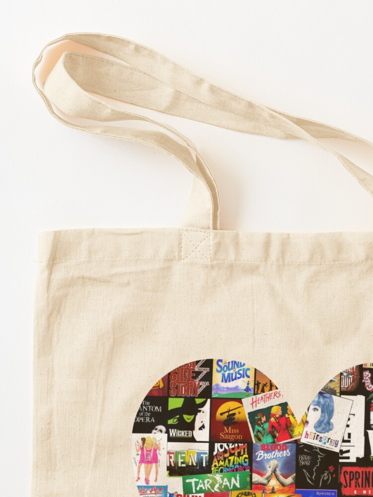 Alternate view of Musicals Collage II Tote Bag