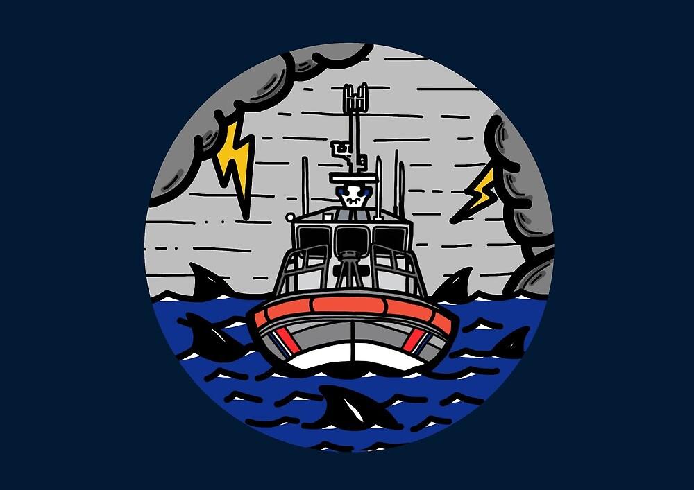 Stormy Seas - Coast Guard 45 RB-M by AlwaysReadyCltv
