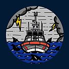 Stormy Seas - Coast Guard 45 RB-M by AlwaysReadyCltv