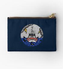 Stormy Seas - Coast Guard 45 RB-M Zipper Pouch