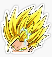 Gohan Peeker | Super Saiyan 2 | Dragon Ball  Sticker
