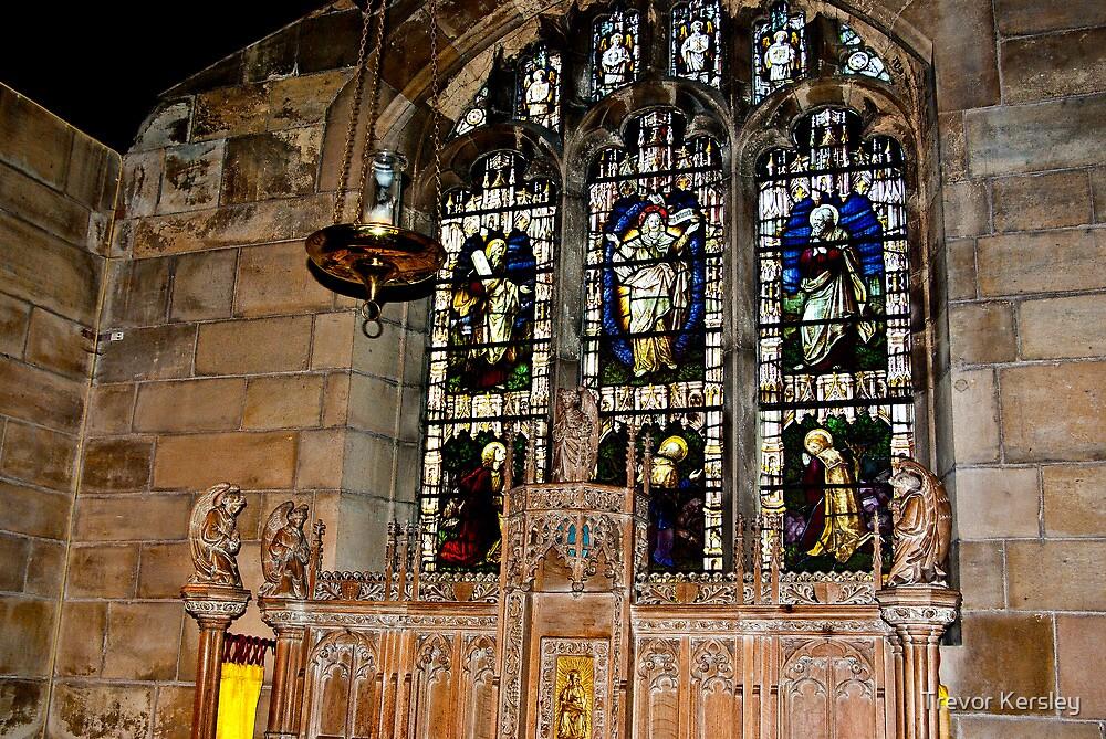 St Olave's York by Trevor Kersley