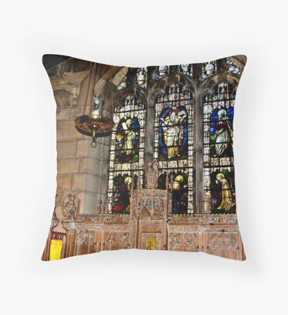 St Olave's York Throw Pillow