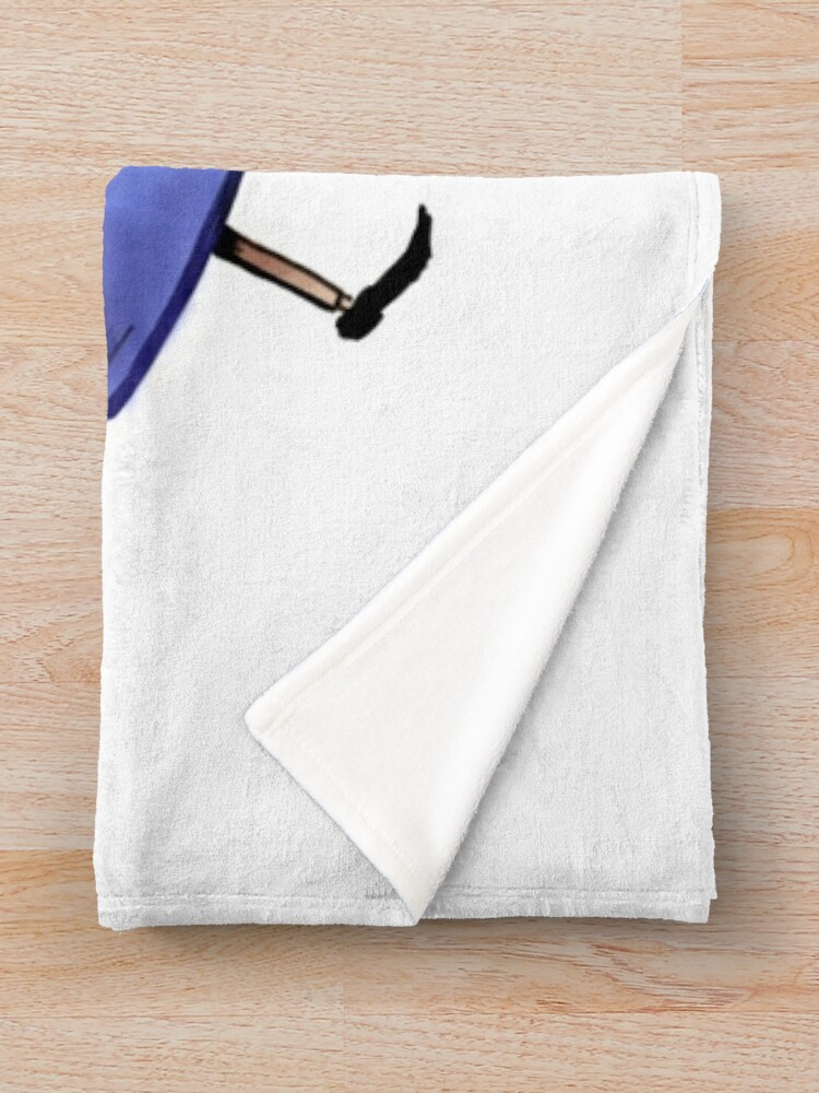 Alternate view of Greg and Wirt Throw Blanket