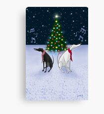 The Carol Hounds Canvas Print