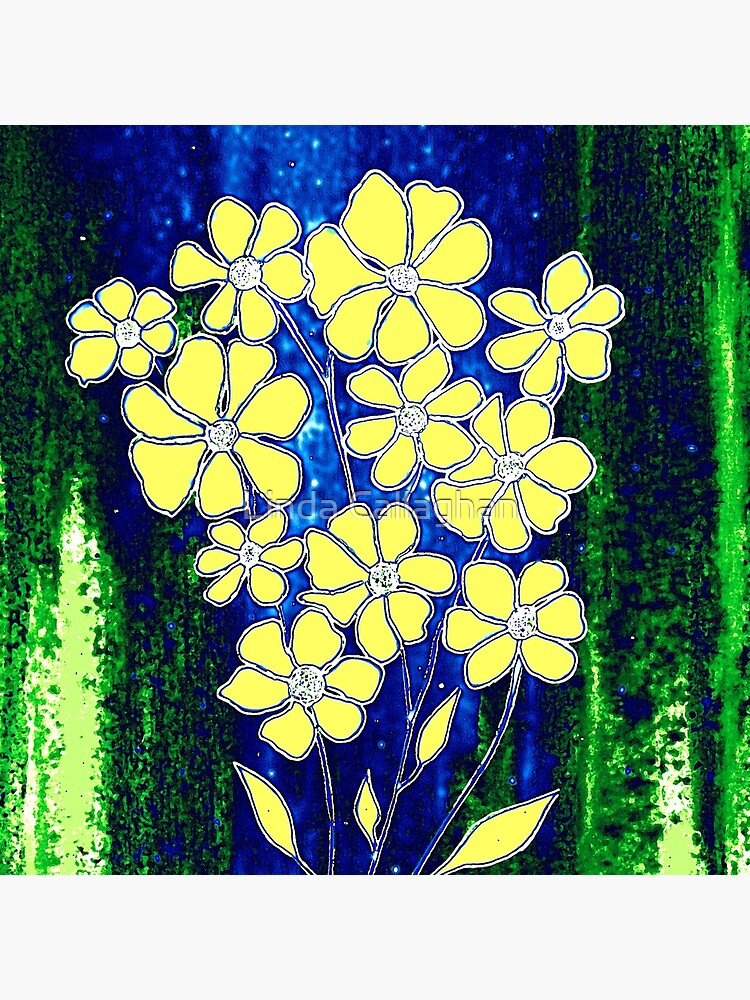 Flowers in Yellow by LindArt1