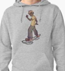 skater boy tshirt manga style by ian rogers T-Shirt