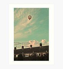 Hot Air Baloon Art Print