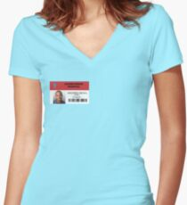 Christopher Turk - Scrubs MD Women's Fitted V-Neck T-Shirt