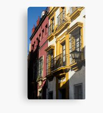 Streets of Seville  Metal Print