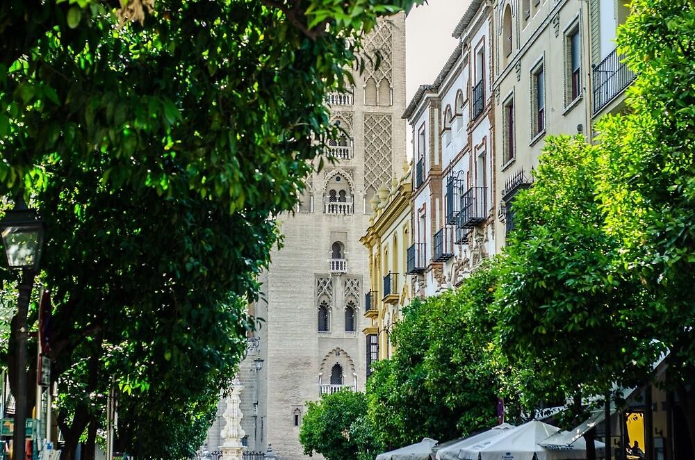 Streets of Seville  by Andrea Mazzocchetti