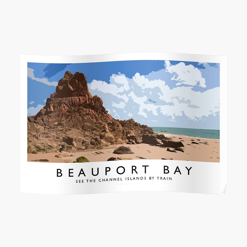 Beauport Bay (Railway Poster) Poster